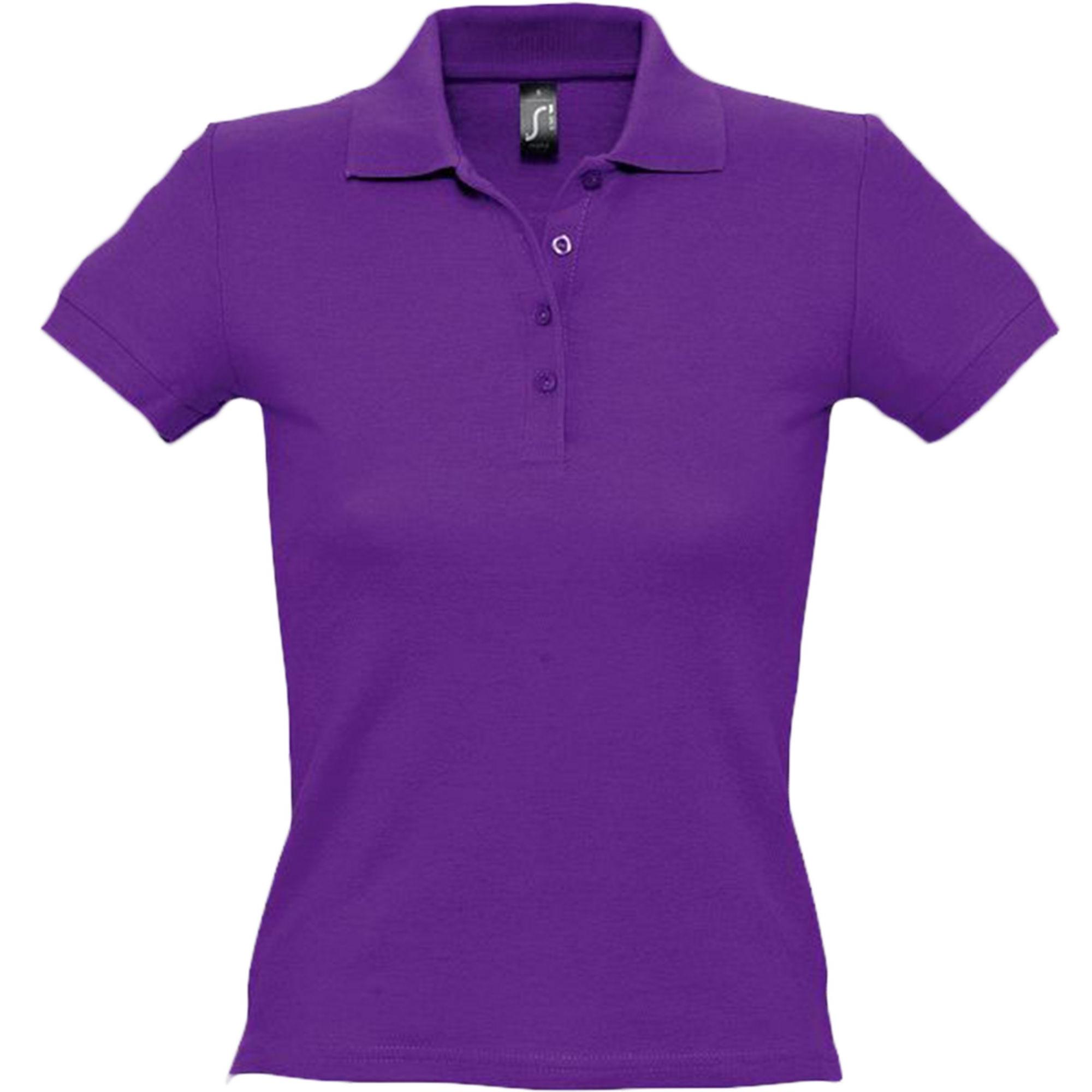 Рубашка поло женская фиолетовая PEOPLE. арт.1895 SALE