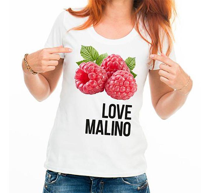 """Футболка антибренд """"Love Malino"""""""
