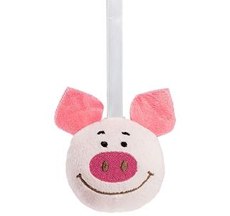 Мягкая игрушка-подвеска «Свинка Penny» арт 10016