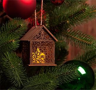 Светильник «Уютный домик» арт 10232