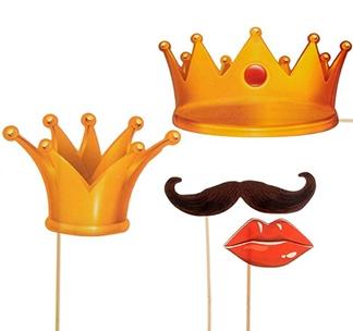 """Набор фотобутафории """"Король и Королева"""""""