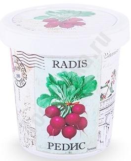 Набор для выращивания Редис, арт. r1490 bum