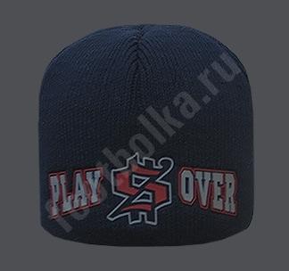 """Шапка темно-синяя """"Play$Over"""" SALE"""