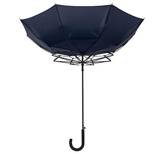Зонт с системой защиты от ветра, синий арт. 2392