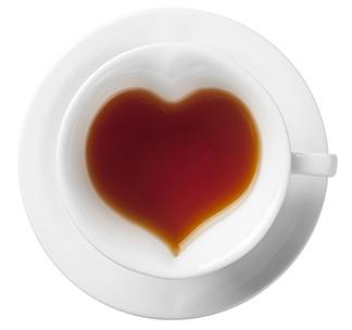 Набор чайный/кофейный «Сердце» на 2 персоны