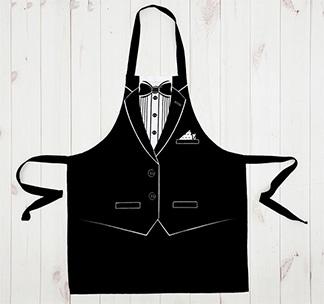 """Фартук """"Джентльмен фрак"""" арт 2785595"""