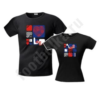Футболка женская  Love squared SALE