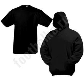 Комплект Толстовка-кенгурушка + муж. футболка