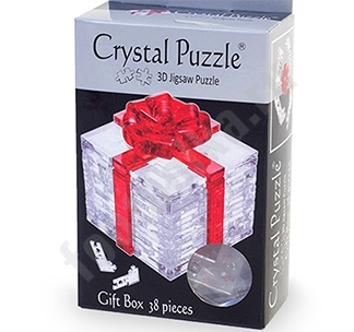 """3D головоломка """"Подарок"""" арт 90132"""