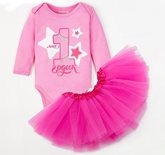 """Набор """"1 годик"""" розовый арт. 4239943"""