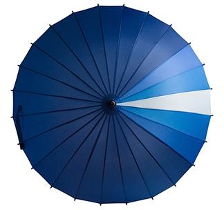 Зонт-трость «Спектр», синий арт 5380