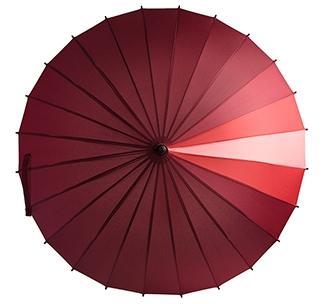 Зонт-трость «Спектр», красный арт. 5380