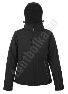 Куртка женская Rock Women, черная, арт.5572