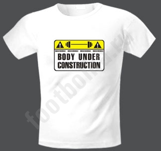 "Футболка ""Body under construction"""