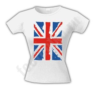 """Футболка женская """"Британский флаг"""""""