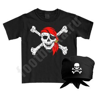 """Детский костюм halloween """"Пират"""" с банданой"""