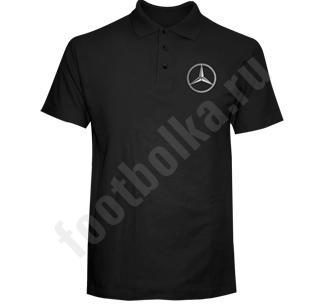 """Рубашка-поло """"с автомобильным логотипом"""" на заказ"""