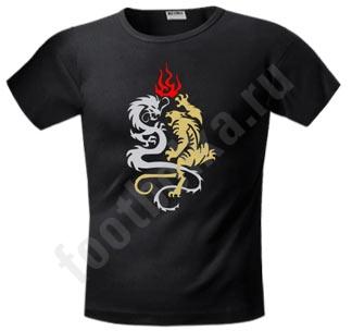 """Футболка FREEdom """"Тигр и Дракон"""""""