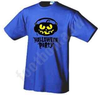 "Футболка halloween ""Halloween Party DJ"""