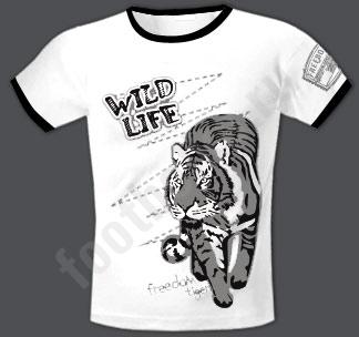 """Футболка FREEdom """"WILD LIFE /tiger/"""""""