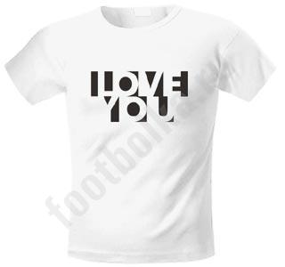 Футболка мужская LOVE YOU