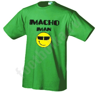 "Футболка ""Macho Man"""