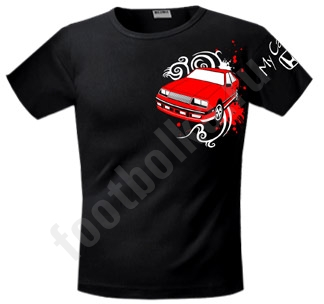 """Футболка """"My Car / с любым авто логотипом/"""""""
