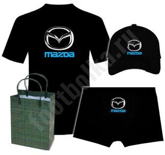 """Набор """"с автомобильным логотипом Мазда"""" на заказ"""