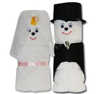 """Набор полотенец """"Жених и Невеста"""""""