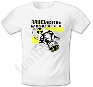 "Футболка FREEdom ""RadioActive Music"""