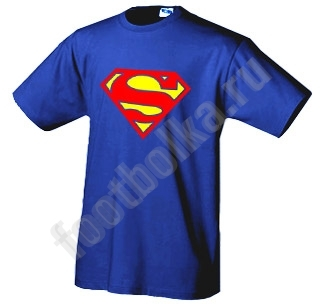 "Футболка ""Супермен (superman)"""