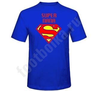 "Футболка ""Супер папа"" супермен"