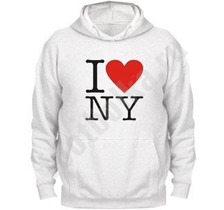 """Толстовка """"I love NY"""""""