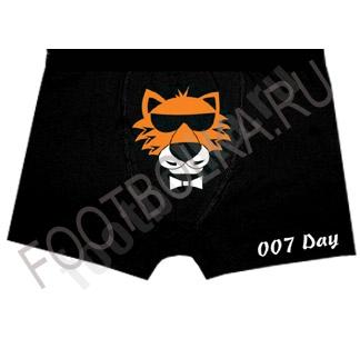 """Трусы мужские с тигром """"007 Day"""""""