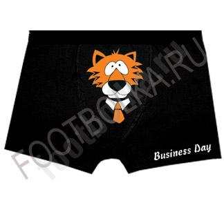 """Трусы мужские с тигром """"Business Day"""""""