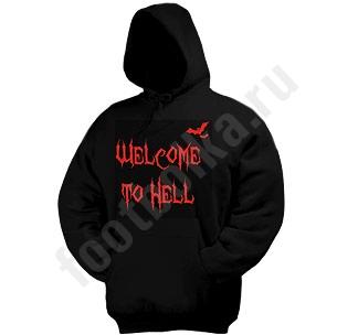 """Толстовка-кенгурушка Halloween """"Welcome to Hell"""""""