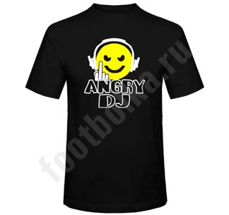 """Футболка """"Angry DJ"""""""