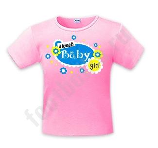"Футболка детская ""Sweet baby girl"""