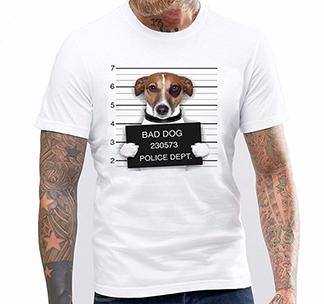 "Футболка ""Bad Dog"""