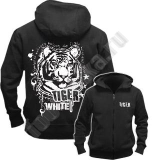 "Толстовка на молнии Freedom ""White Tiger"""