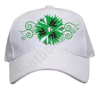 """Бейсболка  """"Green flower"""""""
