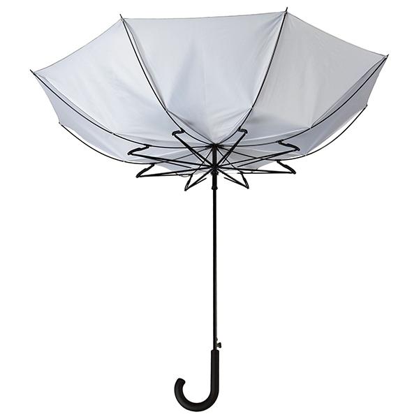 Зонт с системой защиты от ветра, серый арт. 2392 фото 0