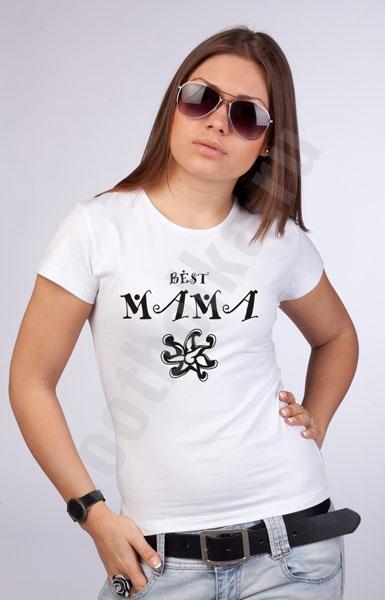"""Футболка """"Best Mama"""" фото 0"""