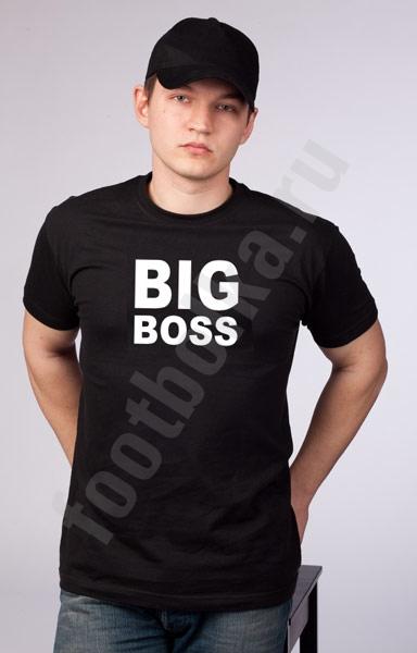 """Футболка  """"Big Boss""""  фото 0"""