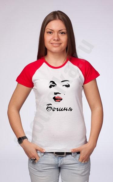 """Футболка """"Богиня Мерилин"""" фото 0"""