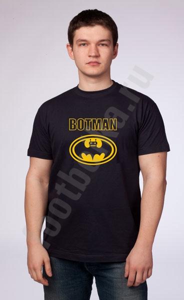 "Футболка  ""Botman"" фото 0"