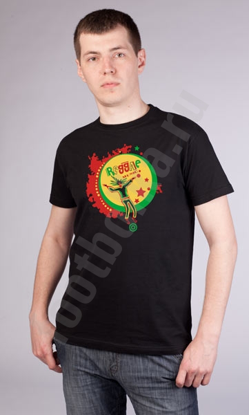 "Футболка ""Reggae music"" фото 0"