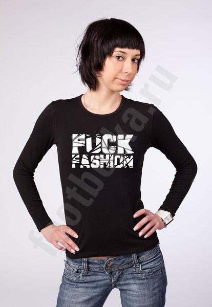 "Футболка ""F*ck Fashion"" фото 0"