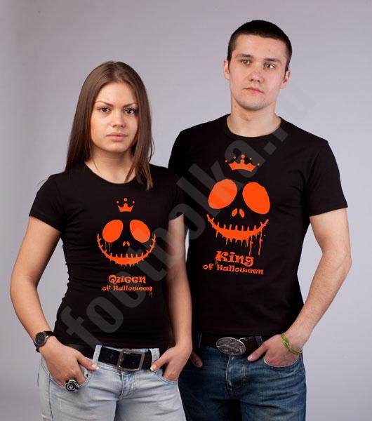 """Футболка """"King of Halloween"""" светится в УФ фото 0"""