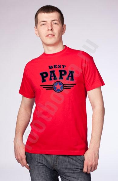"Футболка ""Best Papa"" фото 0"